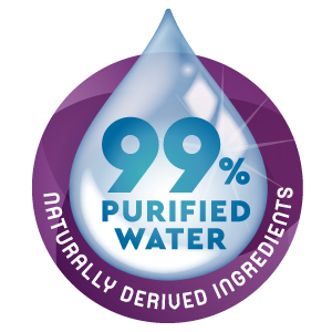 99% of our ingredients are naturally derived