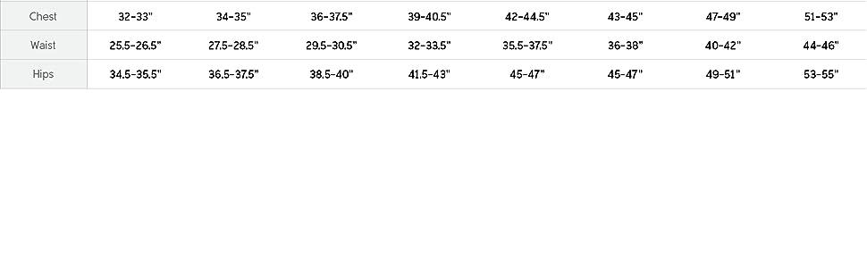 Women's windbreaker size and fit guide