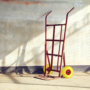 Steekwagenwiel.