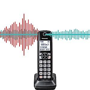 Panasonic KX-TGF544B noise reduction