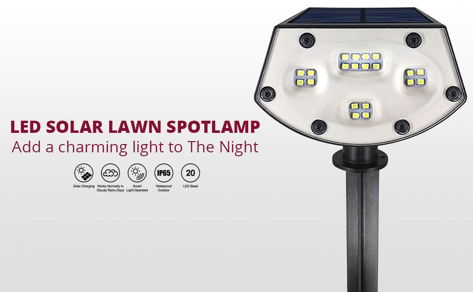 solar outdoor lights, solar lights outdoor, solar landscape lights, solar spotlights, led lights