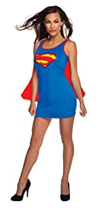 Supergirl dress with removable cape