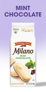 Milano Mint Chocolate cookies are perfect for a treat with a minty touch.