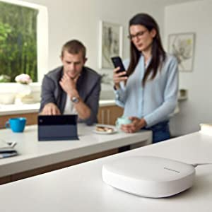 Samsung Connect Home AC1300 Smart Wi-Fi System 3-Pack corner to corner coverage