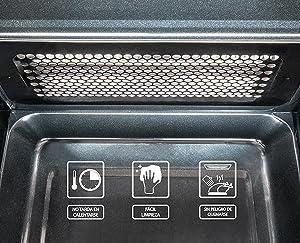 Cecotec Microondas con Grill Silver. Capacidad de 20l, 700 W de Potencia, Grill de 900W, 9 Programas Automaticos, Pantalla LED, Temporizador 30 min, ...