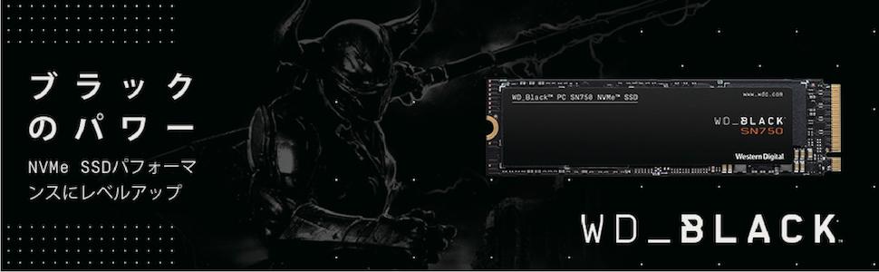WD SSD SN750 BLACK