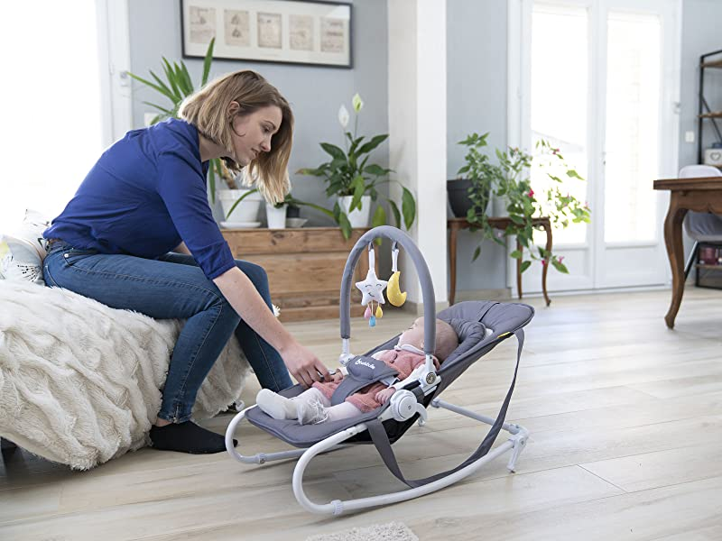 Transat Easy - transat bebe inclinable fix ou balancelle