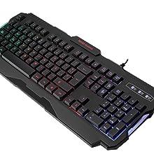 Mars Gaming Mrk0 Gaming Antighosting Keyboard Rgb Computers Accessories