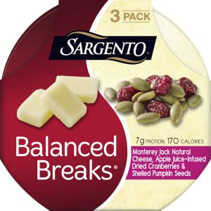 Balanced Breaks, Monterey Jack Cheese, Pumpkin Seeds, Cranberries