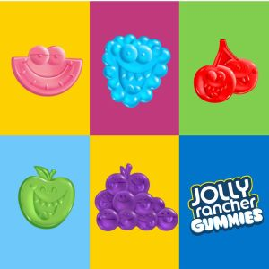 Jolly Rancher Fruit Flavored Hard Candy, Fruit snacks, Gummy, Gummie candy, fruit snacks