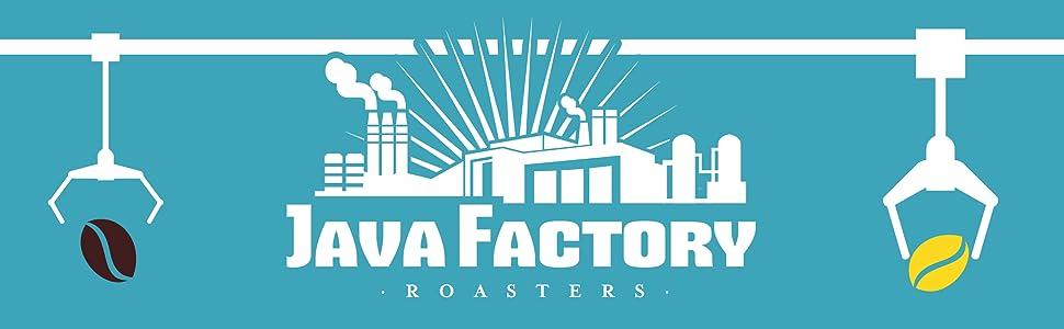 Java Factory K Cup Single Serve Coffee Pods
