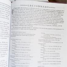 Orhtodox Study Bible Lectionary Readings