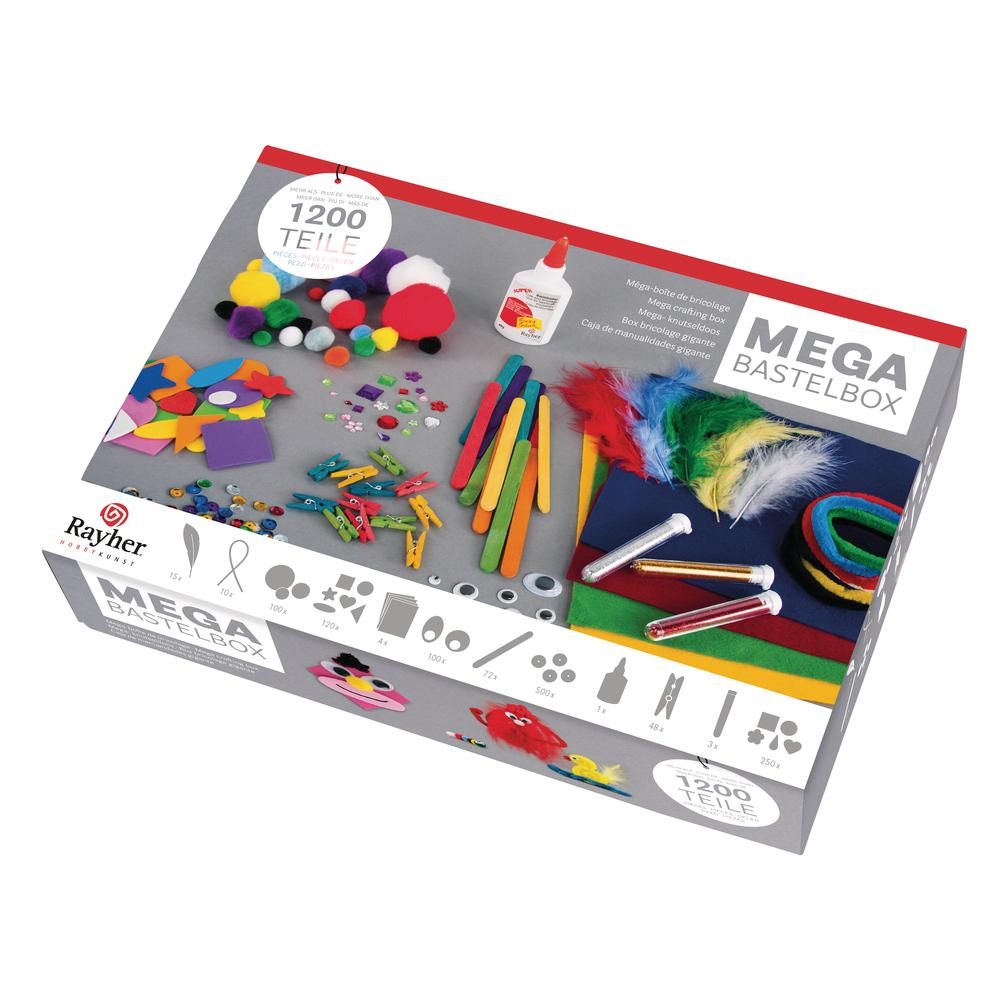 Smowo Mega Bastelset Mix Bastelbox Starterset Mit Kreativen