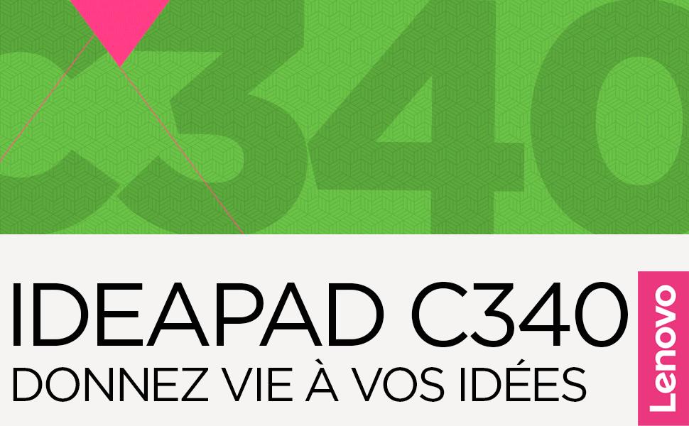 Lenovo Ideapad C340-14IWL Ordinateur Portable 14