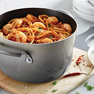 pots and pans, rachael ray, rachael ray cookware, nonstick cookware