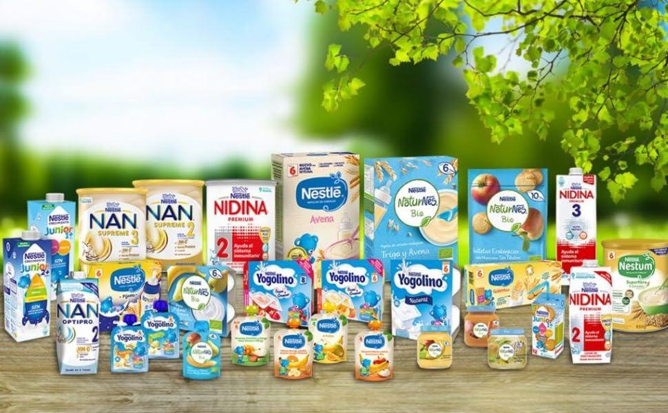 Nestlé Fórmula para Bebé Desde El Primer Día, 800g: Amazon.es ...