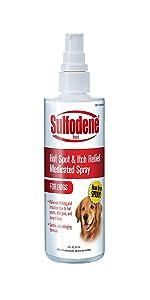medicated spray