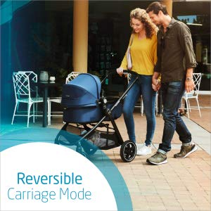 all-in-one travel system, modular travel system, car seat, lightweight, smooth ride, storage basket