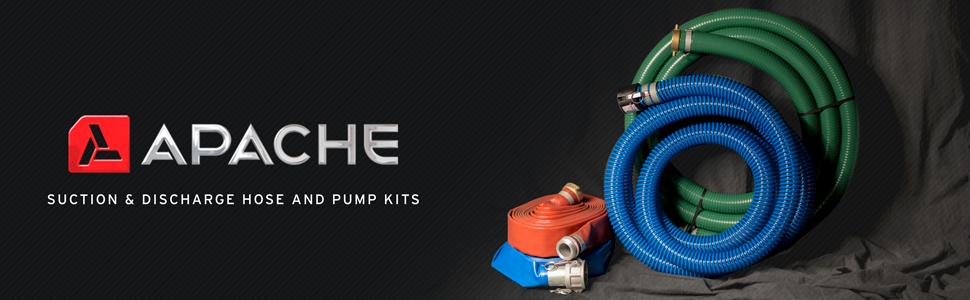 layflat discharge hose brown black bluePVC water hose  sc 1 st  Amazon.com & Apache 98138015 1-1/2