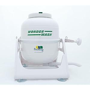 green washing machine, low water washing machine, manual washing machine