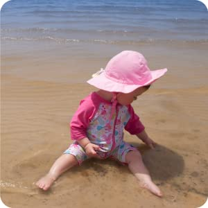 baby toddler swimsuit one piece full coverage sun protection upf 50