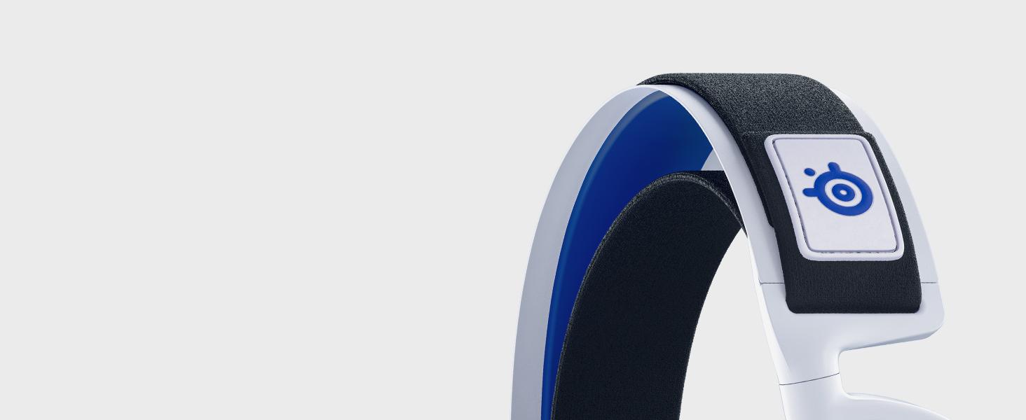 -Arctis 7P Wireless headset headband close up