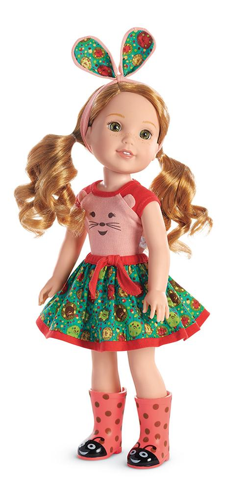 Amazon.com: American Girl WellieWishers Willa Doll: Toys