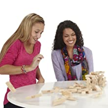 jenga; classic jenga; wooden block game; stacking game; tower game; wedding gifts; games for family