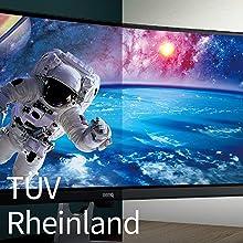 TÜV Rheinland Certification (BenQ EL2870U)