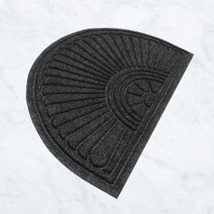 WaterHog Eco Grand, half oval, traps dirt, traps moisture, bi-level design, entrance mat, durable