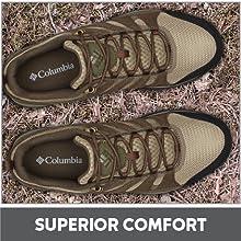 Superior comfort
