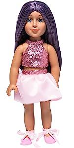 I'M A GIRLY fashion doll Lola, fashion dolls, 18 inch doll Lola, I'M A GIRLY Lola, doll Lola