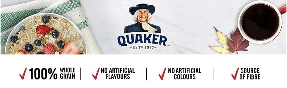 quaker oat porridge