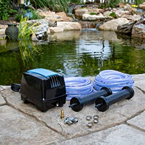 Amazon Com Aquascape Pro Air 60 Pond Aerator And Aeration Kit With