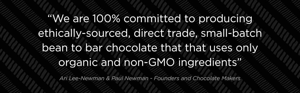 Dark chocolate, organic chocolate, gluten free, vegan, soy free, milk chocolate