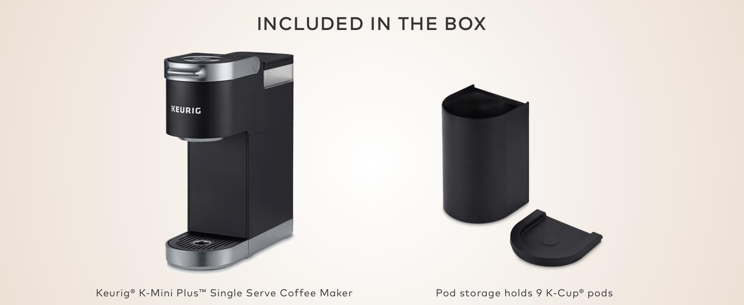 keurig k-mini coffee maker, k-mini plus brewer, coffeemaker, coffee machine, kuerig brewer
