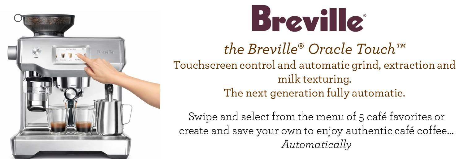 Breville Bes990bss Oracle Touch Silver Amazon Ca Home