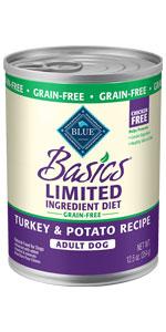 dog food; limited ingredient dog food; limited ingredient diet; canned dog food; wet dog food