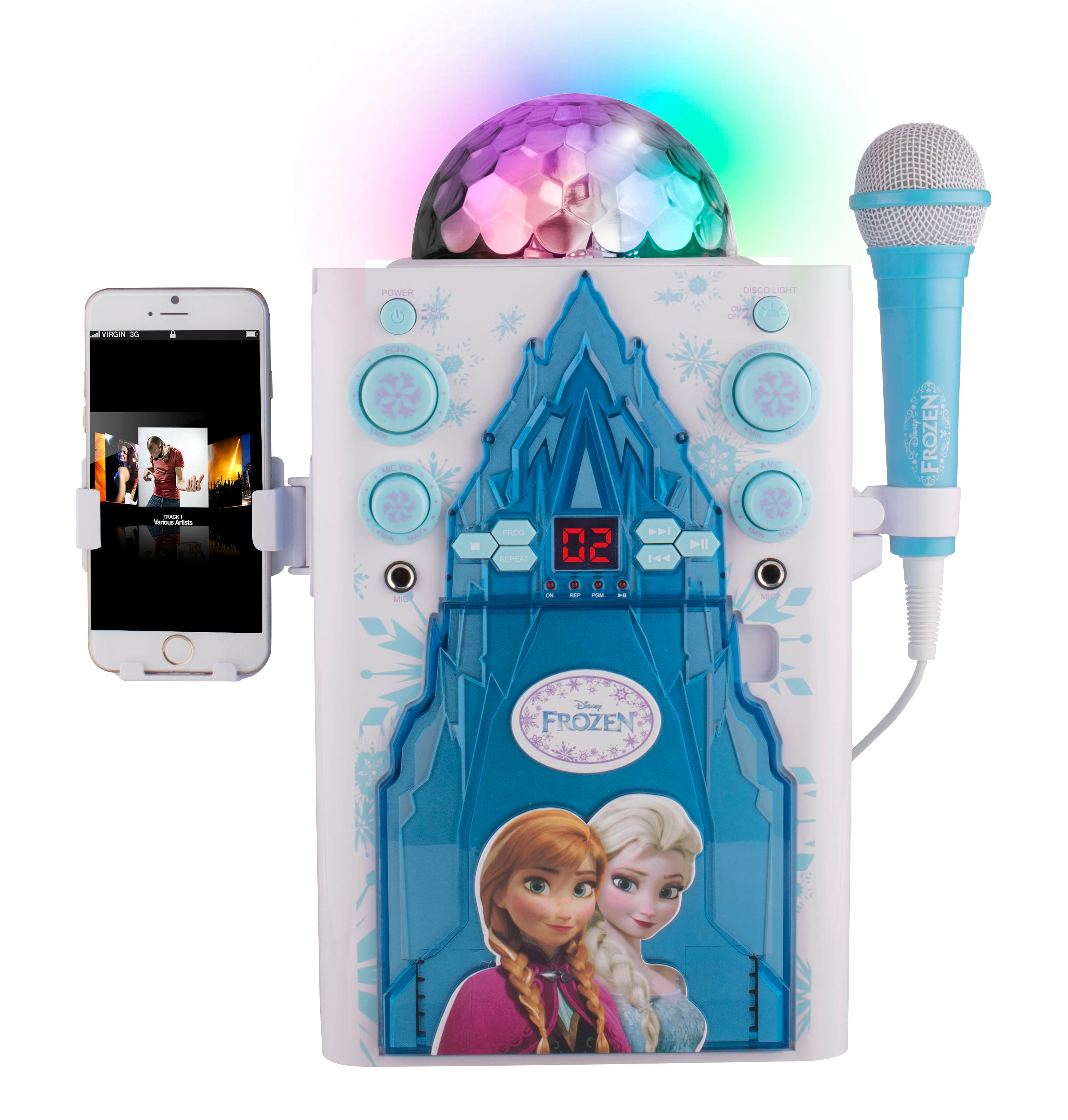 Amazon.com: Frozen Disco Ball Karaoke, KO2-06027: Toys & Games