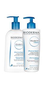 Atoderm Ultra-Gentle Face & Body Cleansing Cream + Atoderm Creme