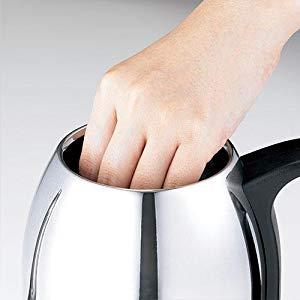 ラッセルホブス 電気ケトル ステンレス コーヒー ドリップ ポット 細口 0.8L 7408JP カバー付き