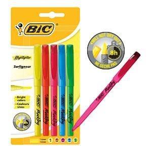 Schreibwaren, Stifte, BIC, Schreiben, Schule, Textmarker, Spaß.