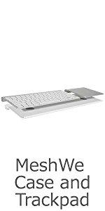 Bluefin Meshwe Wireless Keyboard Magic Trackpad case tray connector bluetooth wireless