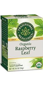 Traditional Medicinals Organic Raspberry Leaf Herbal Tea