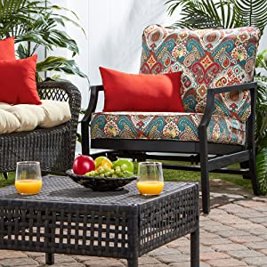 weather-resistant outdoor deep seat cushions