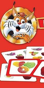 Educa - Lince Edicion Familia con Aplicación, Juego de mesa familiar que pone a prueba tus reflejos, a partir de 6 años (16146): Amazon.es: Juguetes y juegos
