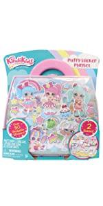 Kindi Kids Puffy Sticker Playset