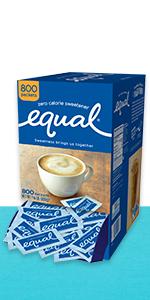Equal Sweeteners Carton
