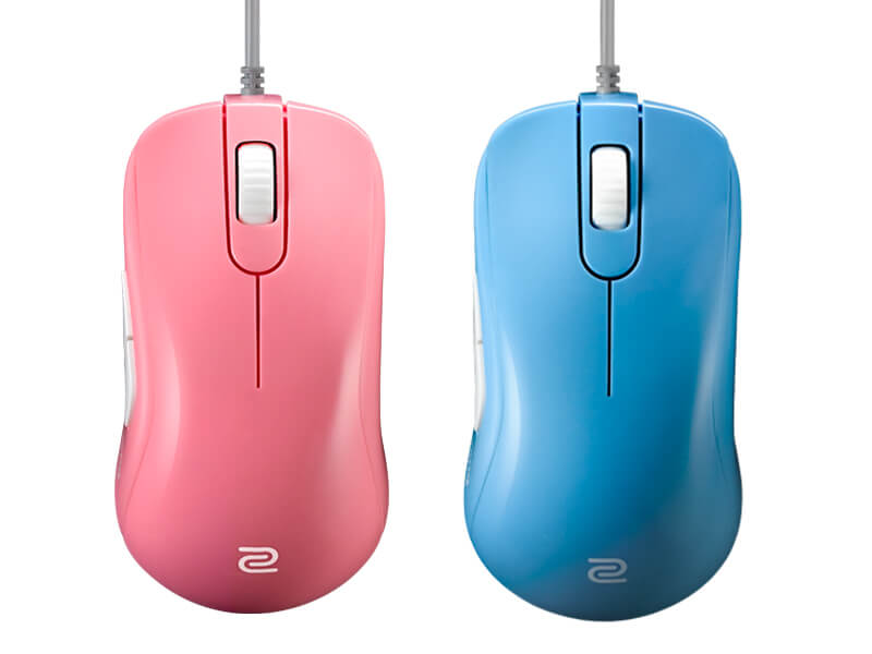 Zowie S2 Divina Version Gaming Maus Blau Computer Zubehör