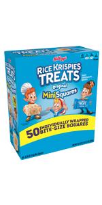 Kellogg's Rice Krispies Treats MiniSquares